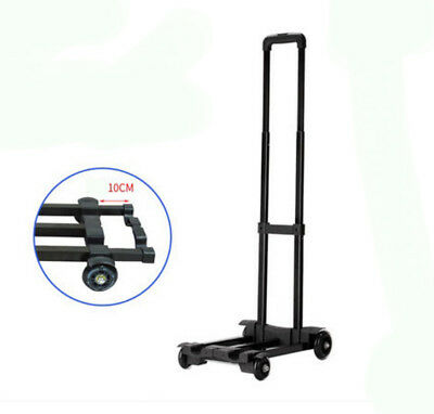 D45 Rugged Aluminium Luggage Trolley Hand Truck Folding Foldable Shopping Cart