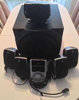 Logitech Z-5500 THX-Certified 5.1 Digital Surround Sound System
