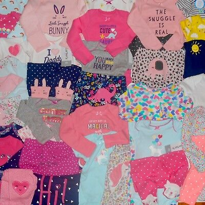 NEWBORN CARTER'S BABY GIRL CLOTHES HUGE LOT NEW WITH TAGS Outfit Sets Layette