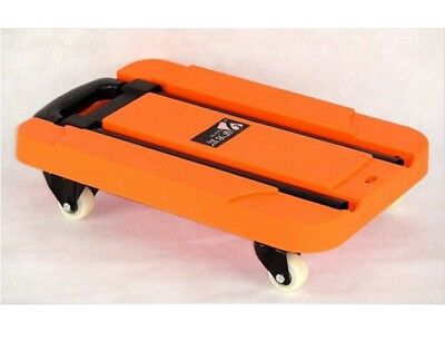 D11 Rugged Aluminium Luggage Trolley Hand Truck Folding Foldable Shopping Cart