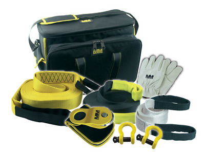 Mean Mother 8 pce 4WD Recovery Kit (8,000 Kgs Snatch Strap)