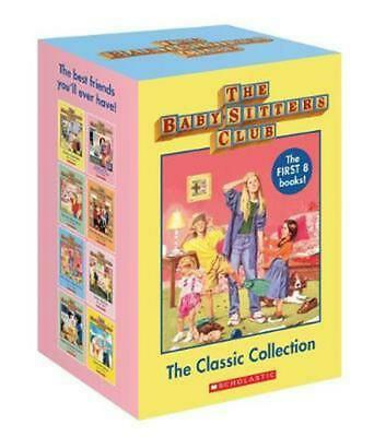 NEW Babysitters Club The Classic Collection 8 Books Boxed Set *FREE AU SHIPPING*