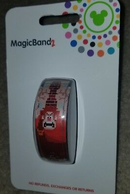 NEW Disney Parks Wreck It Ralph Magic Band 2018 Black LINK IT LATER LINKABLE