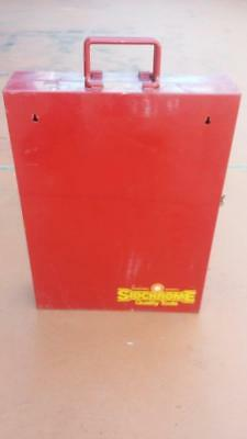 Sidchrome Tool Box.vintage,spanners,motor,car,old,house,garage,workshop,tools.