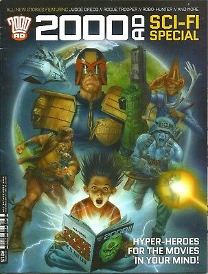 2000AD SCI-FI SPECIAL 2015 / 24th JUNE 2014 / REBELLION / V/G / JUDGE DREDD