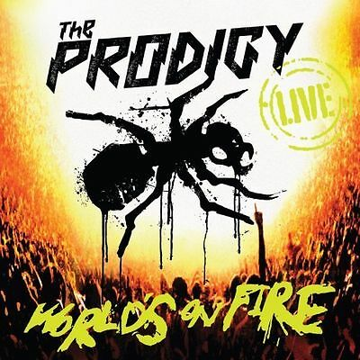 THE PRODIGY - World's on Fire - 2 disc  (Live Recording/+DVD, 2011)