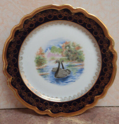 Limoges Porcelain Commemorative Plate - 150th Anniversary of Western Australia
