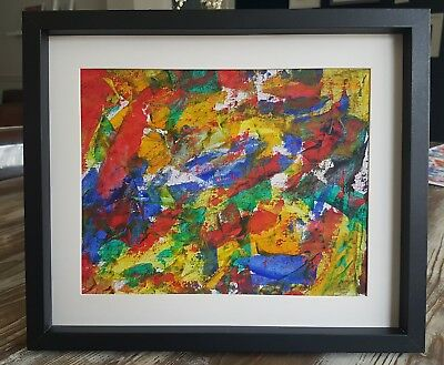 Original Oil/acrylic Painting Signed And Dated