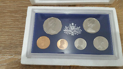 Royal Australian 1972 Mint Proof Set