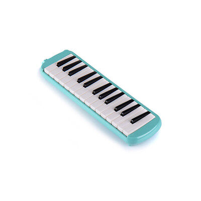 D04 27 Piano Keys Green Musical Instrument Melodica Pianica With Carrying Bag O