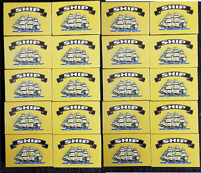 Ship Safety Matches pack of 20 boxes at approx 40 matches  per box