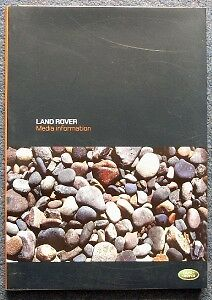 LAND RANGE ROVER Discovery Press Pack Photos CD 2004