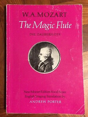 Mozart The Magic Flute Vocal Score