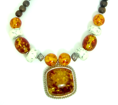 Most beautiful Moroccan stones, pearls, metals in a beautiful necklace