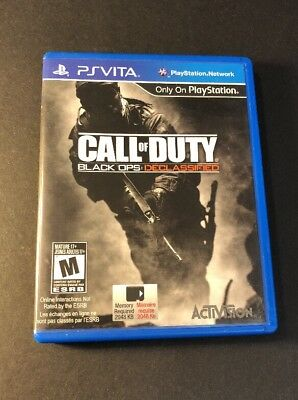 Call of Duty [ Black Ops Declassified ] (PS VITA) USED