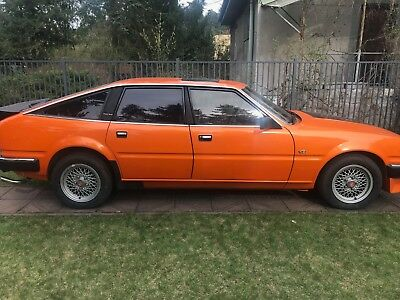 LHD Rover SD1 Vitesse Low Mileage NO Rust Air Conditioning UK Registered
