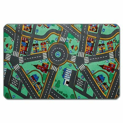 Kids Car Play Rug Floor Mat Large Toddler Pretend Playing Activity Toy Gift New