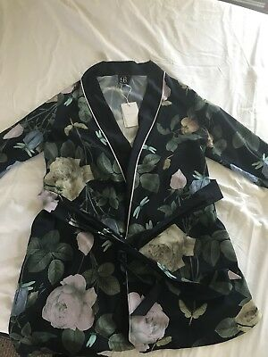 Ted Baker Dressing Gown Size 12-14 New