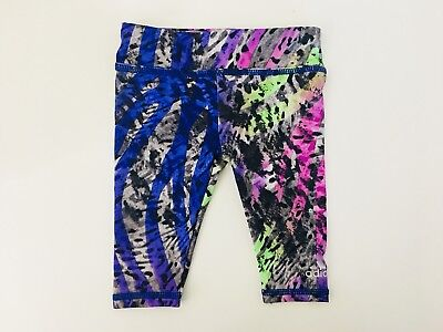 adidas Girl's 3M Stretch Leggings Purple Tribal Adorable Baby Pants 3 Months