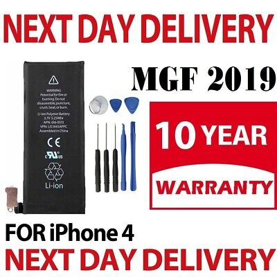 NEW Replacement Battery for iPhone 4 with Free Tool Kit 100% Capacity