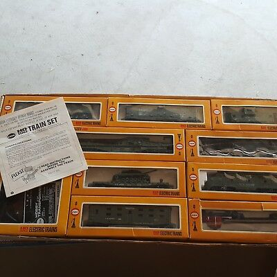 Cox Vintage 1975 Electric Train Set GI General HO Scale US Army Complete B411