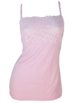 NEW Felina Women's Lace & Modal Camisole- 2 Pack Rose/Pink Free Shipping SMALL