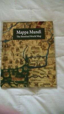 Mappa Mundi medieval world map P.D.A. Harvey 2010 with fold out map