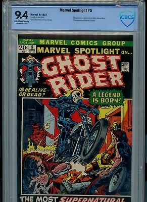 Marvel Spotlight #5,  CBCS 9.4 NM!!, 1st Appearance of Ghost Rider!  (Not CGC)
