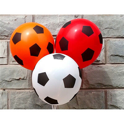 10pcs football printing balloon high quality round balloons party decorationsRDR