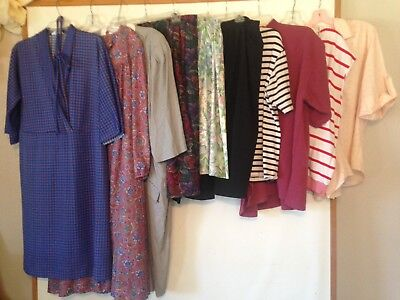 Vintage LOT of Plus Size Dresses Skirts 1980s 80s 10 Pieces in Lot XL XXL 1X
