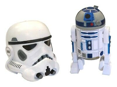 NEW Shanghai Disney Star Wars R2-D2  Stormtrooper Pen Pencil Antenna Topper Set