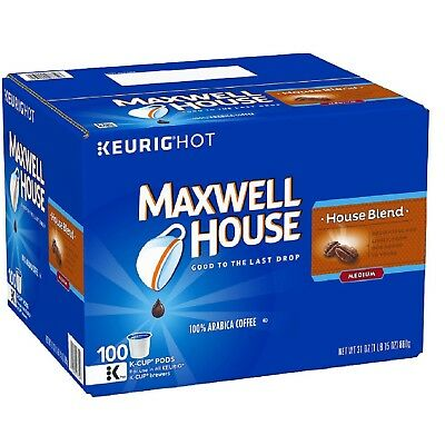 Maxwell House, House Blend Coffee 100 K-Cups