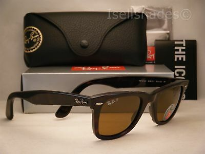 83b9fb4f14 Ray Ban ORIGINAL WAYFARER (RB2140-902 57 50) Tortoise with Brown Polarized