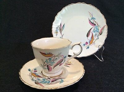 Old Foley Chinarita Trio Tea Cup Saucer Vintage Collectable James Kent