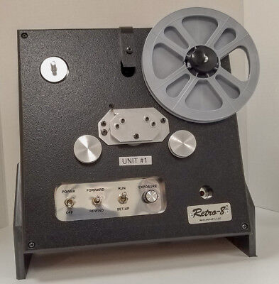 Moviestuff Retro-8 Film Scanner For Both Reg 8 and Super 8 Movies