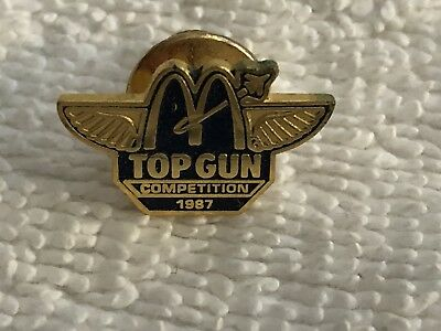 McDonalds Top Gun Pin