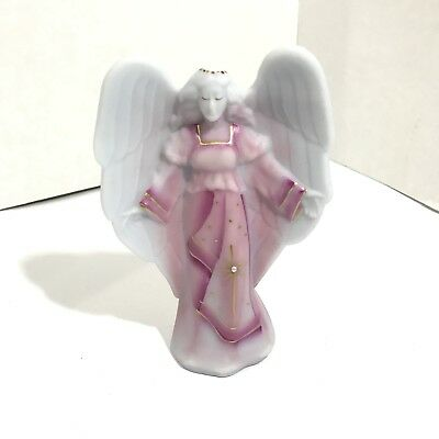 2009 Fenton Good Fortune Collection - Handpainted Angel Signed by Shelley Fenton