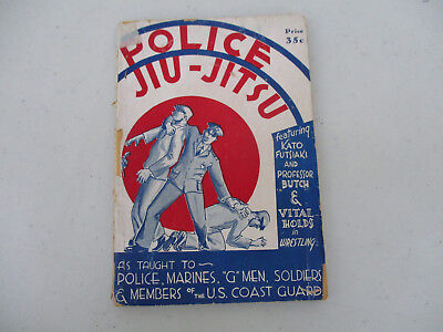 Martial Arts Police Jiu Jitsu Training Instruction G Men Judo