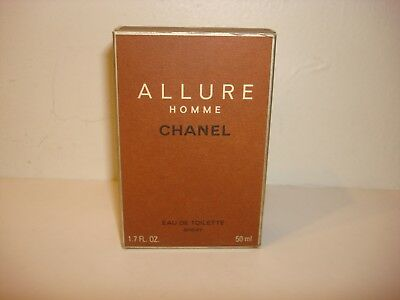 2a9ccccb4e4 CHANEL ALLURE HOMME 1.7oz 50ml Eau De Toilette Spray Cologne Fragrance for  Men -  100.00