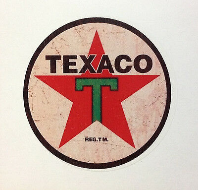 Rat Rod Hot Rod Street Rod Vintage Racing Oil   Sticker Chopper  Bobber Texaco