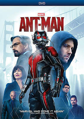Ant-Man (Dvd, 2015) - Brand New - Free Shipping