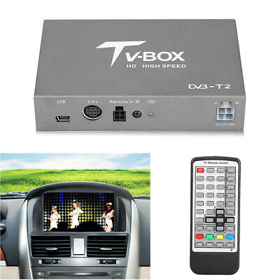 HD 1080P High Speed Mobile Digital TV Box Receiver Subminiature Car TV Box Host
