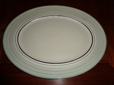 Myott Son & Co England H.W.83 Hand Painted Large Platter