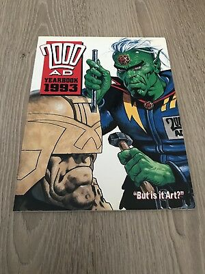 2000 AD YEARBOOK 1993 Illustrated Paperback Publisher Fleetway