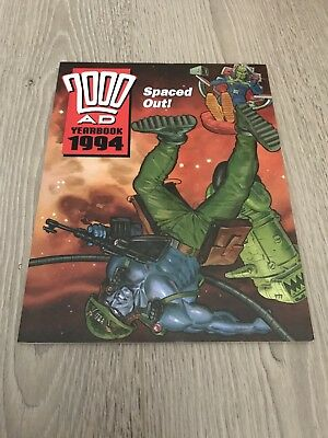 2000 AD YEARBOOK 1994 Illustrated Paperback Publisher Fleetway