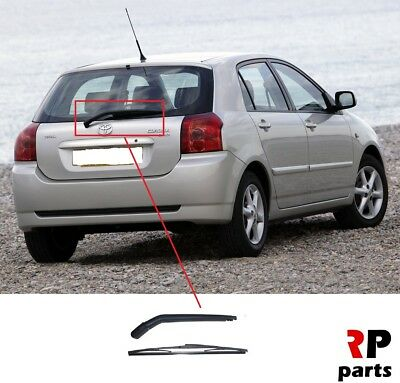 For Toyota Corolla E12 2002 - 2007 New Rear Window Wiper Arm With Blade