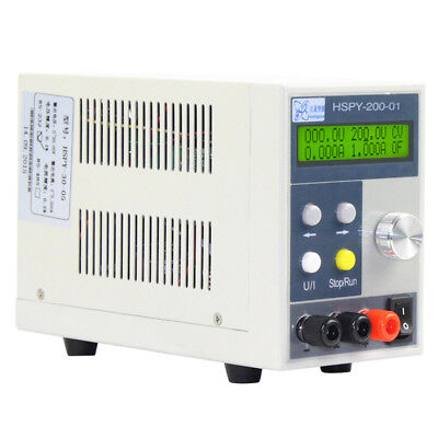 200V 1A  LCD Digital Display Programmable Adjustable DC Power Supply