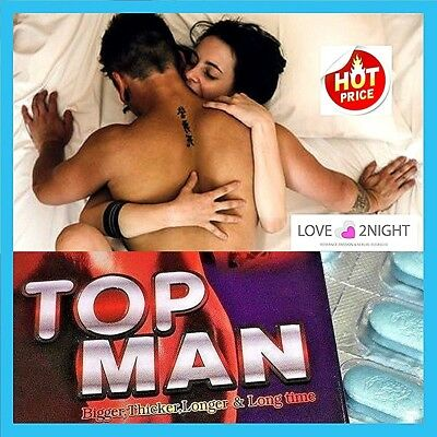 Top Man For Men / Male Enhancement Sex Pills / 10 Tablets / LOVE 2NIGHT