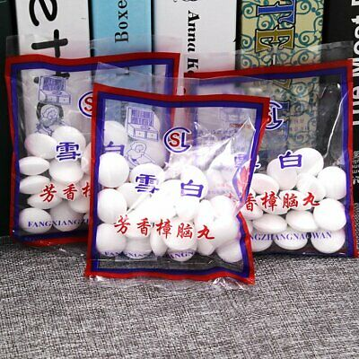 Camphor Anti Moth Balls Aromatherapy Room Car Protection Home Repellent KU