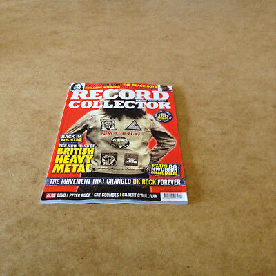 Record Collector #481 July 2018 Vinyl Record Books Cds Dvd News Reviews Gigs